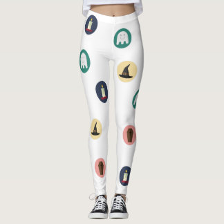Leggings Polainas del modelo de Halloween