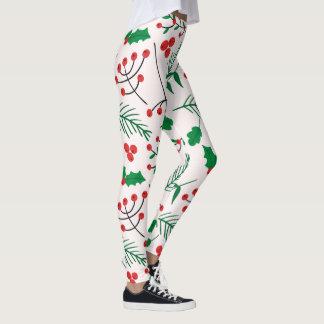 Leggings Polainas del navidad - alegría del navidad
