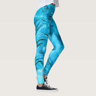 Leggings Polainas diseñadas, arte abstracto