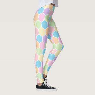 Leggings POLAINAS en colores pastel