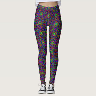 Leggings Polainas enrrolladas y coloridas