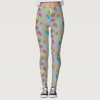 Leggings Polainas florales