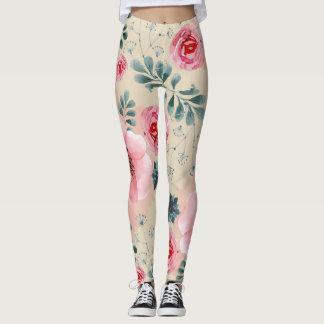 Leggings Polainas florales de los sueños