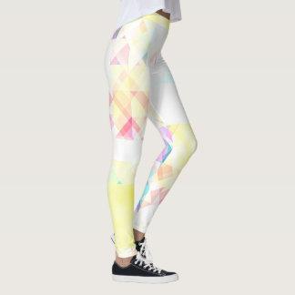 Leggings Polainas geométricas suaves elegantes del modelo