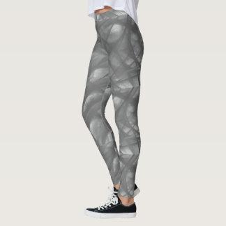 Leggings Polainas grises del remolino