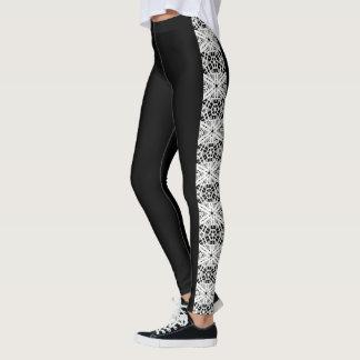 "Leggings Polainas laterales 3 del modelo de las ""piernas"