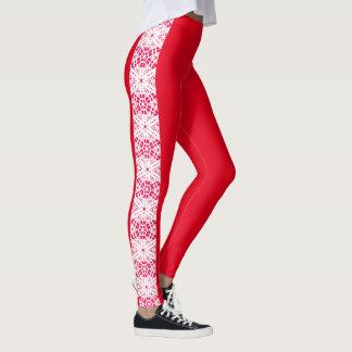 "Leggings Polainas laterales 4 del modelo de las ""piernas"