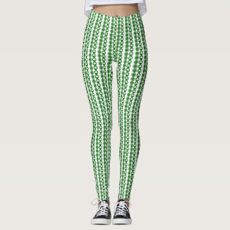 Leggings Polainas modeladas trébol de moda