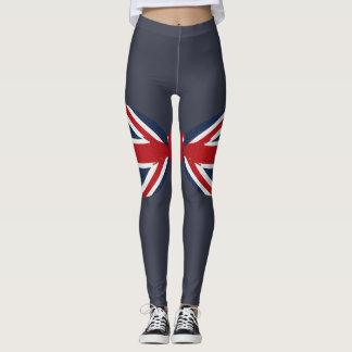 Leggings Polainas - pajarita de Union Jack