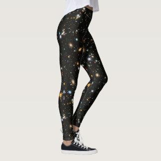Leggings Polainas profundas del campo de Hubble/polainas de