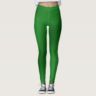 Leggings Polainas rayadas verdes claras