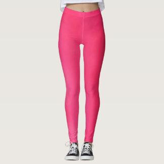 Leggings polainas rosadas oscuras ligeras