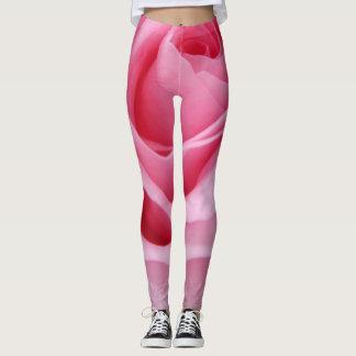 Leggings Polainas rosadas simples