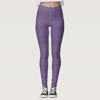 Leggings Polainas sombreadas púrpura
