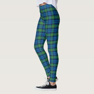 Leggings Polainas - tela escocesa de Campbell