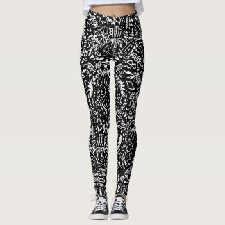 Leggings Polainas tribales