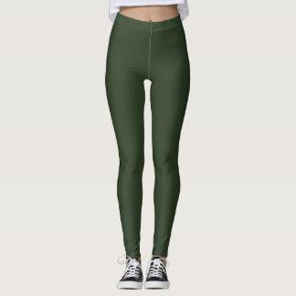 Leggings Polainas verdes