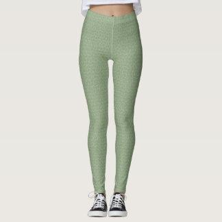 Leggings Polainas verdes polvorientas de Tesselation