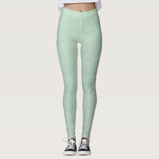 Leggings Polainas verdes veteadas pistacho pálido