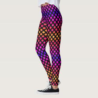 Leggings Puntos multicolores