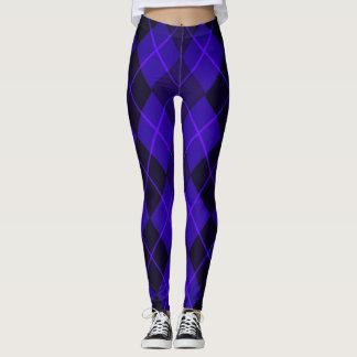 Leggings Purple-Diamonds_Argyle_Street-Ware-Classic
