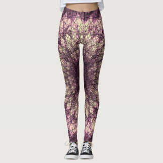 Leggings Purple Mandala