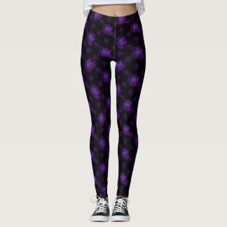 Leggings Púrpura del potro del fantasma