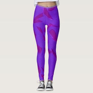 Leggings Púrpura rota