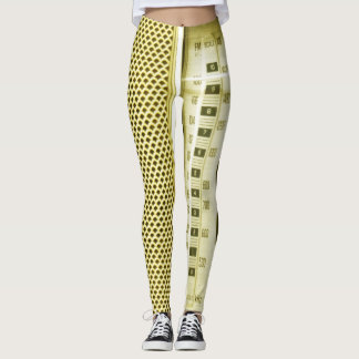 Leggings ¡Radio amarilla!