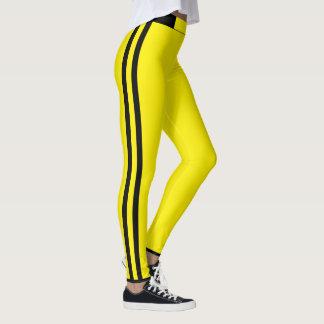 Leggings Rayas amarillas