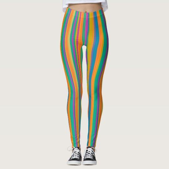 Leggings rayas coloridas