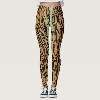 Leggings Rayas del tigre