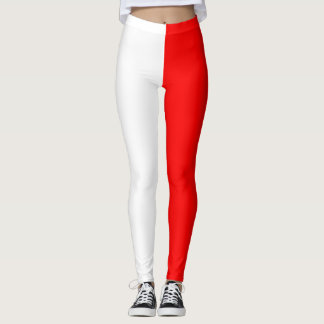 Leggings Rayas rojas y blancas