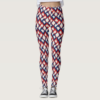 Leggings Red white and blue