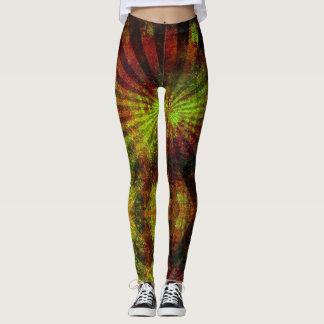 Leggings Reggae Vibrations - Power yoga Ir