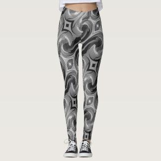 Leggings Remolino gris