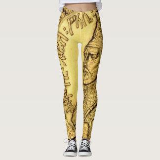 Leggings Rey Judah Design de las polainas de Haile Selassie