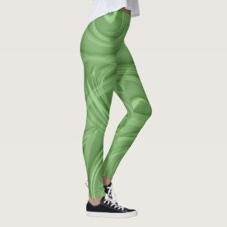 Leggings Rizos sobre ilustraciones verdes