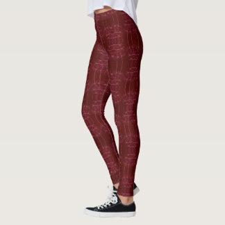 Leggings Rojo elegante