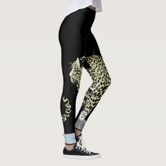 Leggings ¡Rugido de Jaguar! Polainas