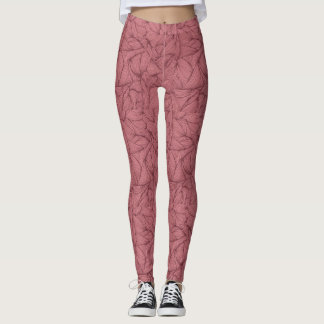 Leggings Sombra en colores pastel del rosa