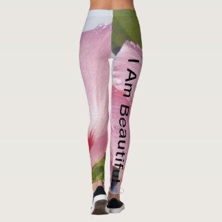 Leggings Soy Hibiscus_Pink hermoso