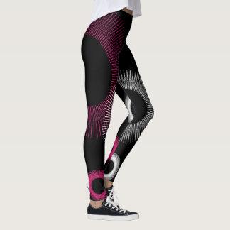 Leggings Starburst rosado