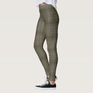 Leggings (tela escocesa gris bronceada)