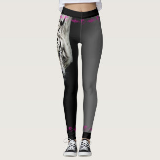 Leggings Tigre blanco