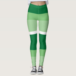 Leggings Tiras - verde