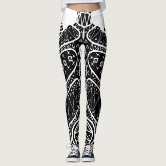 Leggings Tortuga negra