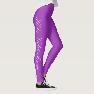 Leggings Ultravioleta de la moda