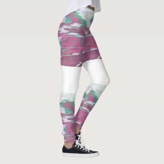 Leggings Verde rosado