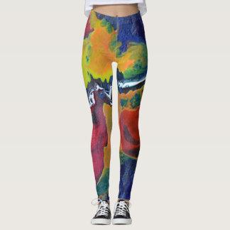 Legginigs abstractos del espacio leggings